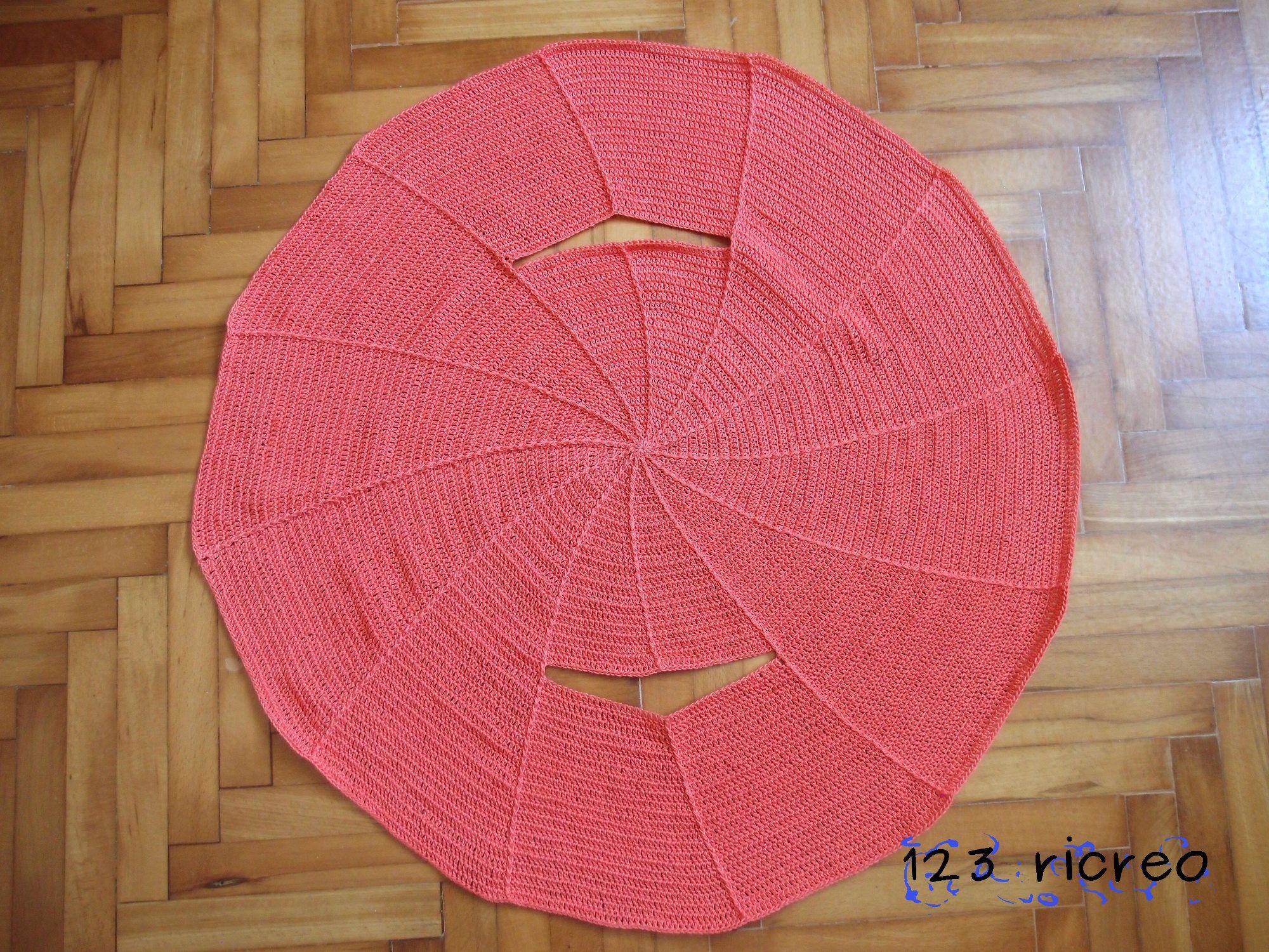 Come si realizza un gilet rotondo alluncinetto 123ricreo lana