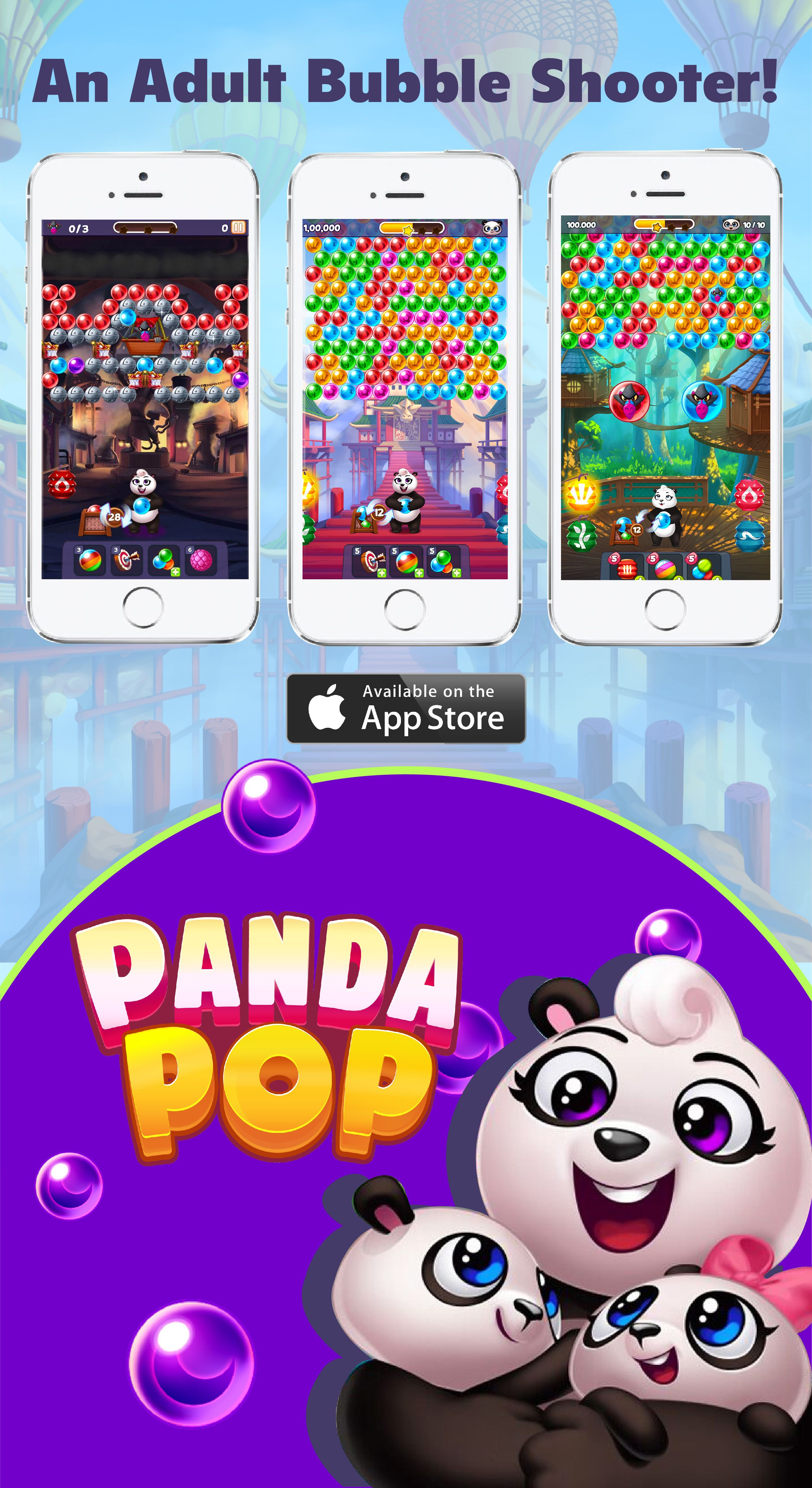Play the new Panda Pop Game, download today! Bubble