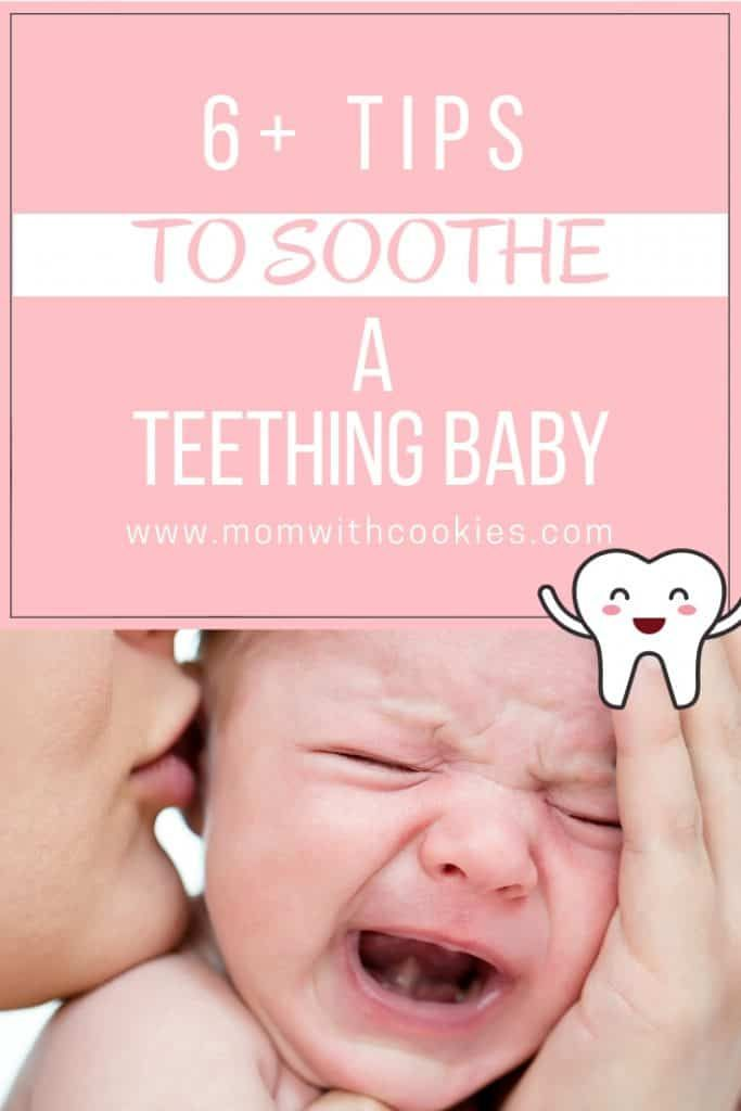 How To Soothe A Teething Baby And What The Signs Are Teething Baby Gums Baby Remedies Baby Teething Remedies