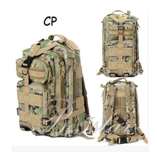 1PC Unisex Outdoor Tactical Backpack Camping Hiking Bag Rucksacks