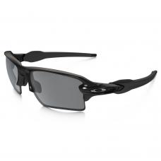 e5830e96bc Oakley Flak 2.0 XL Sunglasses Polished Black   Black Iridium Polarized Lens
