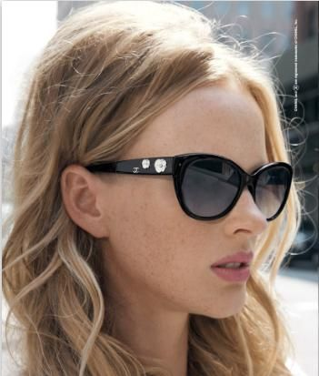 14ef8b0561 Chanel cat-eye sunglasses