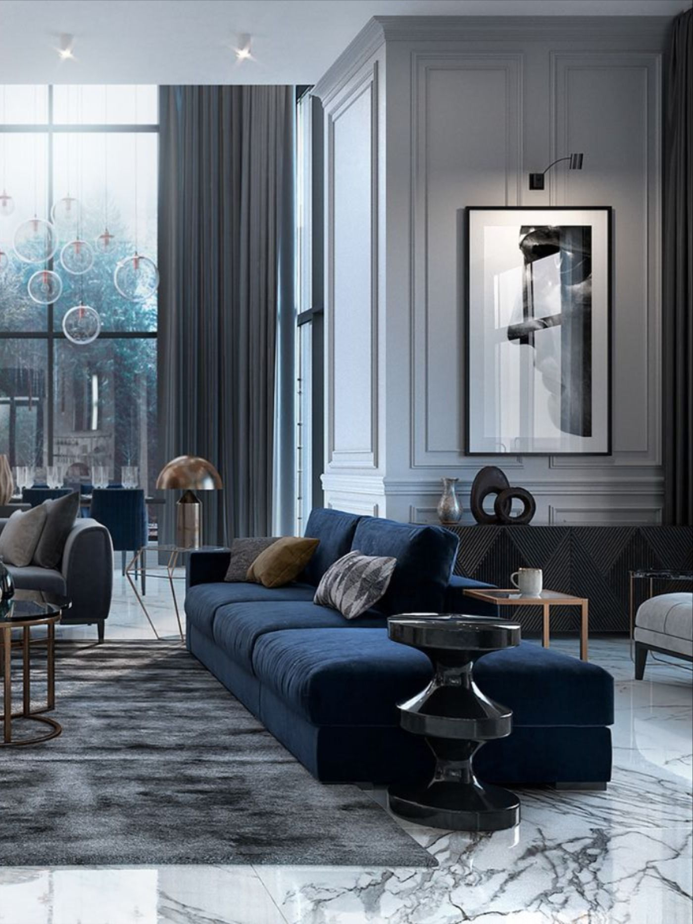 Studia 54 With Boca Do Lobo Boost Luxury Home Decor Living Room Designs Trendy Living Rooms New living room designs