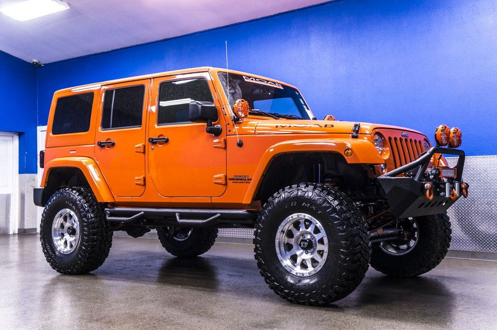 2015 Jeep Wrangler Unlimited Moab Off Road Edition 4x4 Jeep For