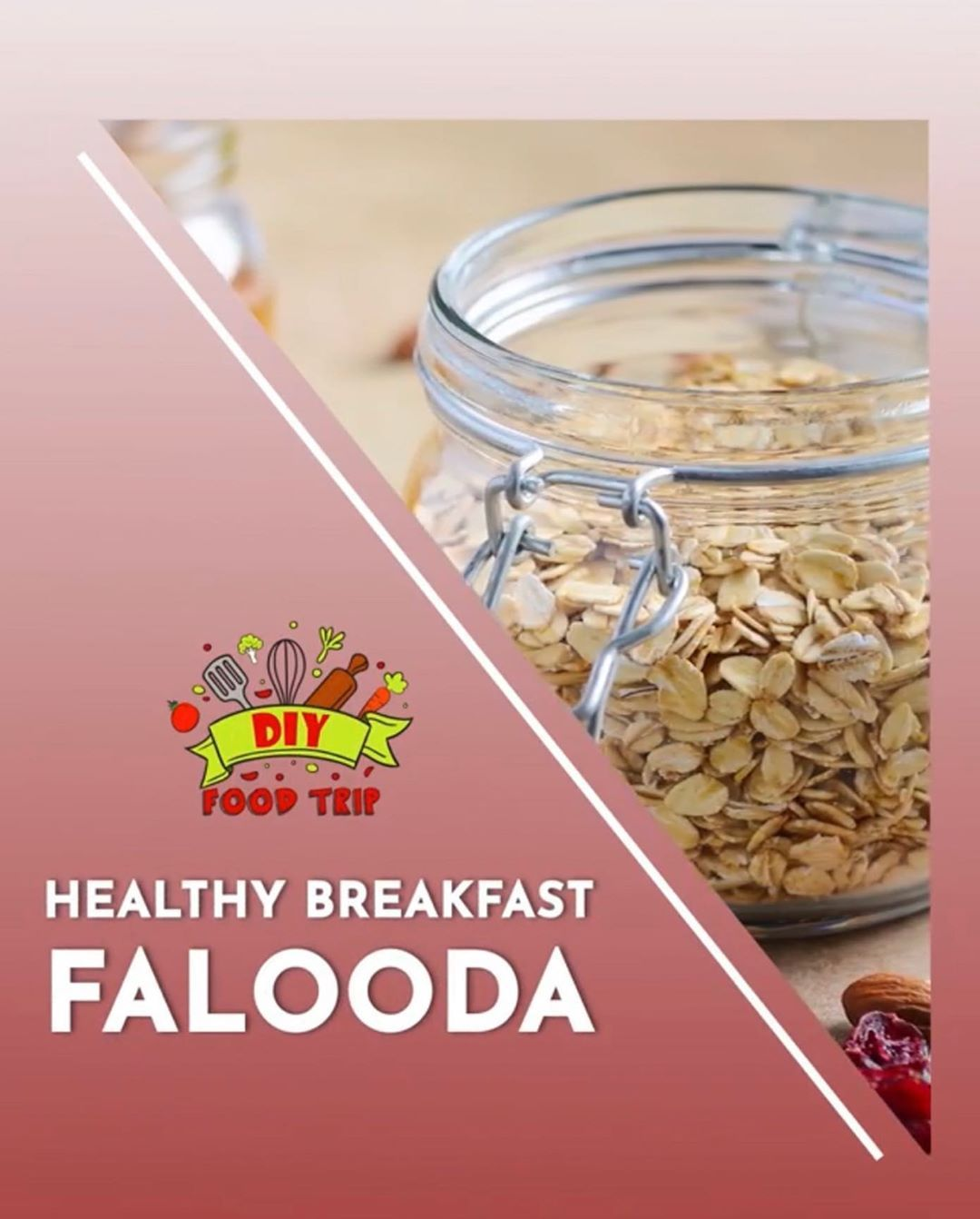 Let this breakfast Falooda make your mornings more interesting. Fruits, nuts and oats come together in this delicious recipe. Try it and let us know how you liked it! artofliving#diy