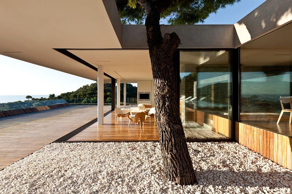 moderne villa auf griechenland mit gigantischem pool dream house pinterest moderne villa. Black Bedroom Furniture Sets. Home Design Ideas