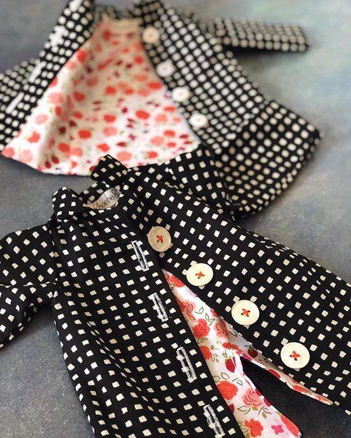 Doll Dressmaking Series: The Reversible Dress #dolldresspatterns