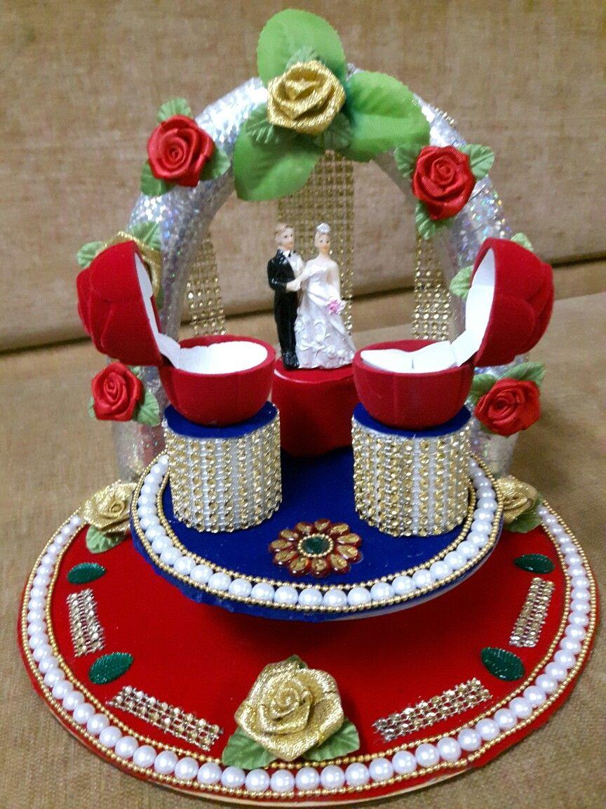 Ring plate....making by me Ring box wedding diy, Wedding