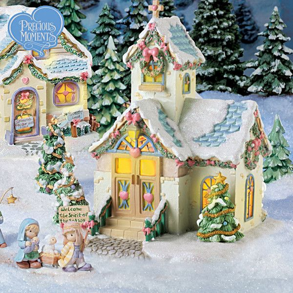 Precious Moments Christmas Village Collection | Christmas ...
