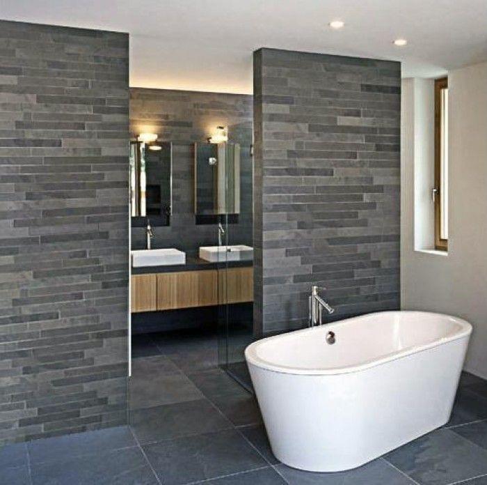 badkamer antraciet grijs wit - Google Search | fürdő | Pinterest ...