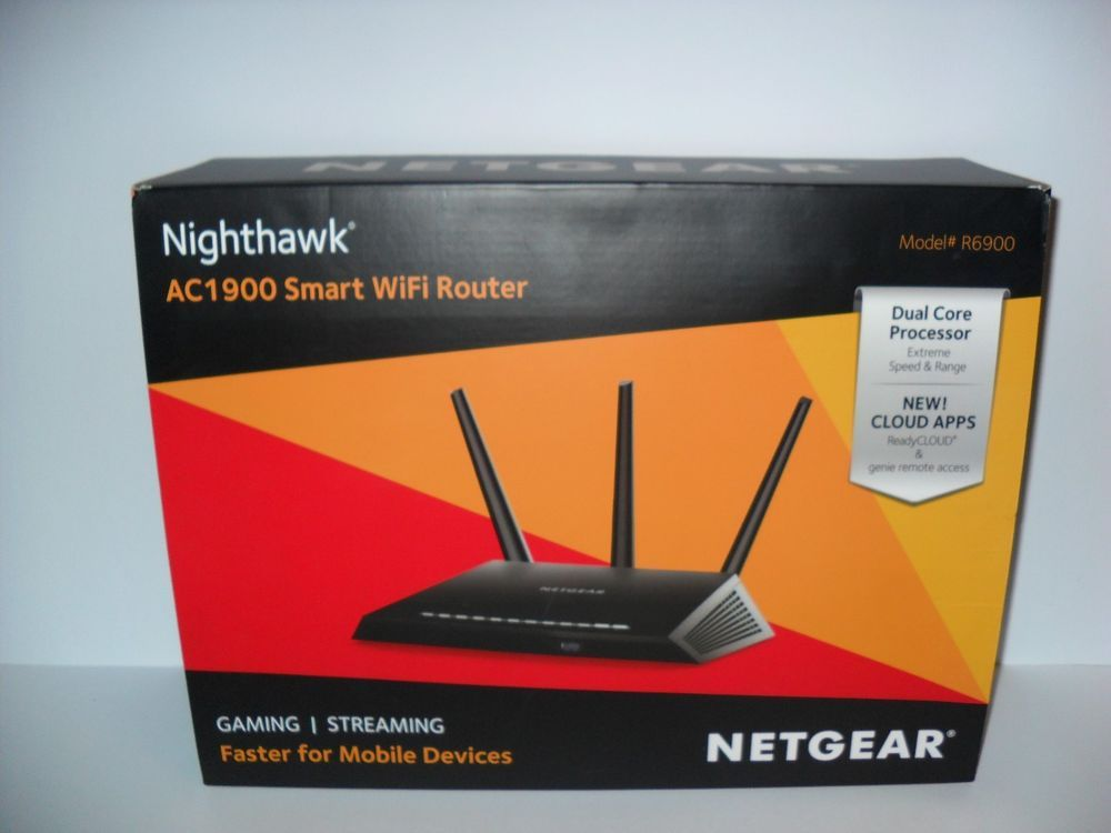 Netgear Nighthawk AC1900 Smart Wifi Router Dual Band