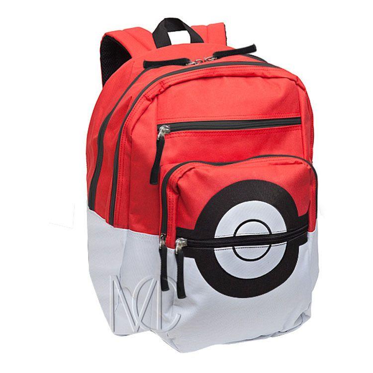 Go pika ball style designer backpack school book bag gift