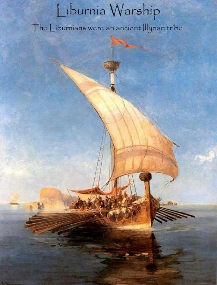 Liburnia Warship (Ancient Illyrians)