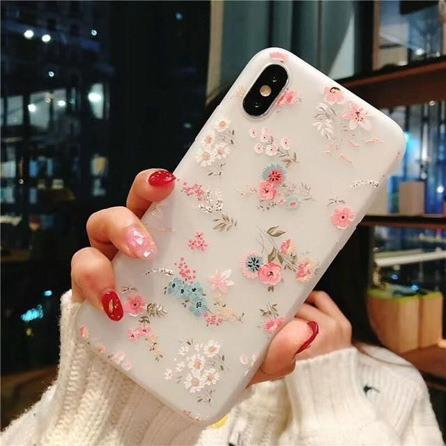 flowery phone case iphone 7