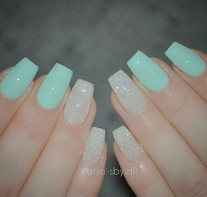 Pin by Emperatriz GM on Uñas | Pinterest | Glitter nails, Dream ...