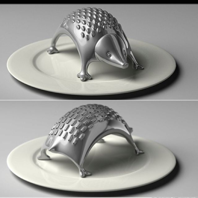 Cheese grater, how cute.