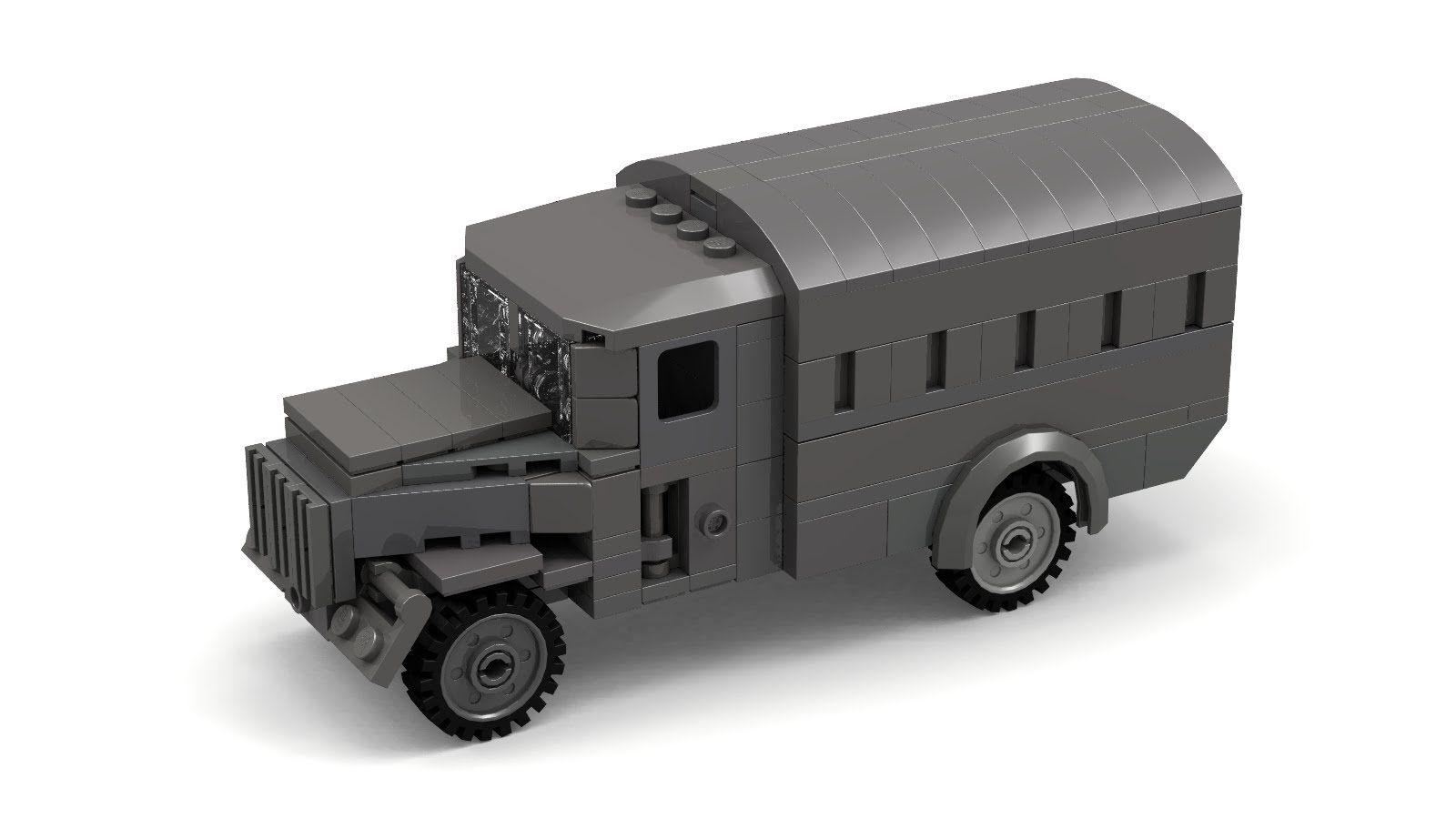 lego wwii german opel blitz instructions | cars | lego