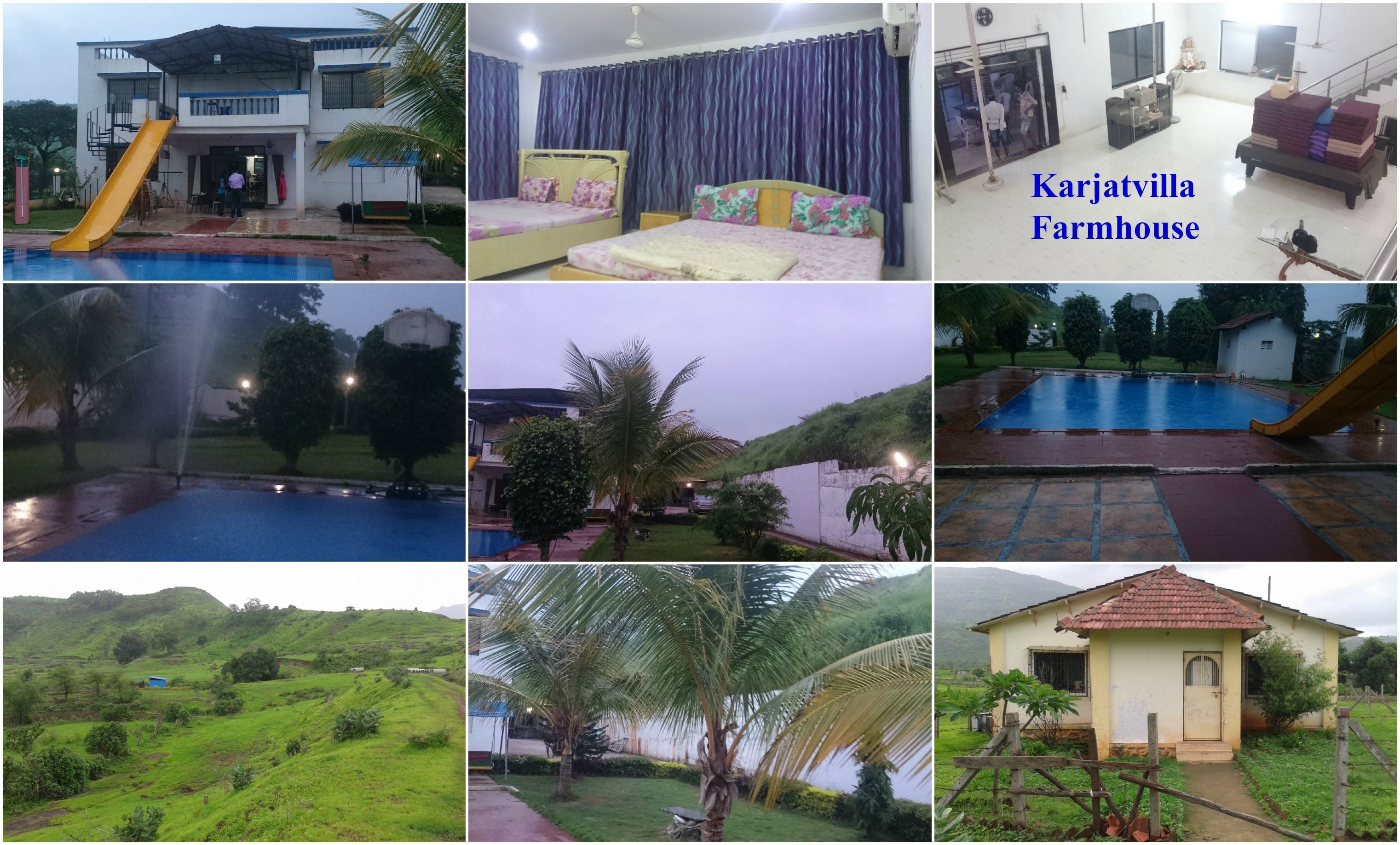Look out the beauty of Karjatvilla Farmhouse at Karjat