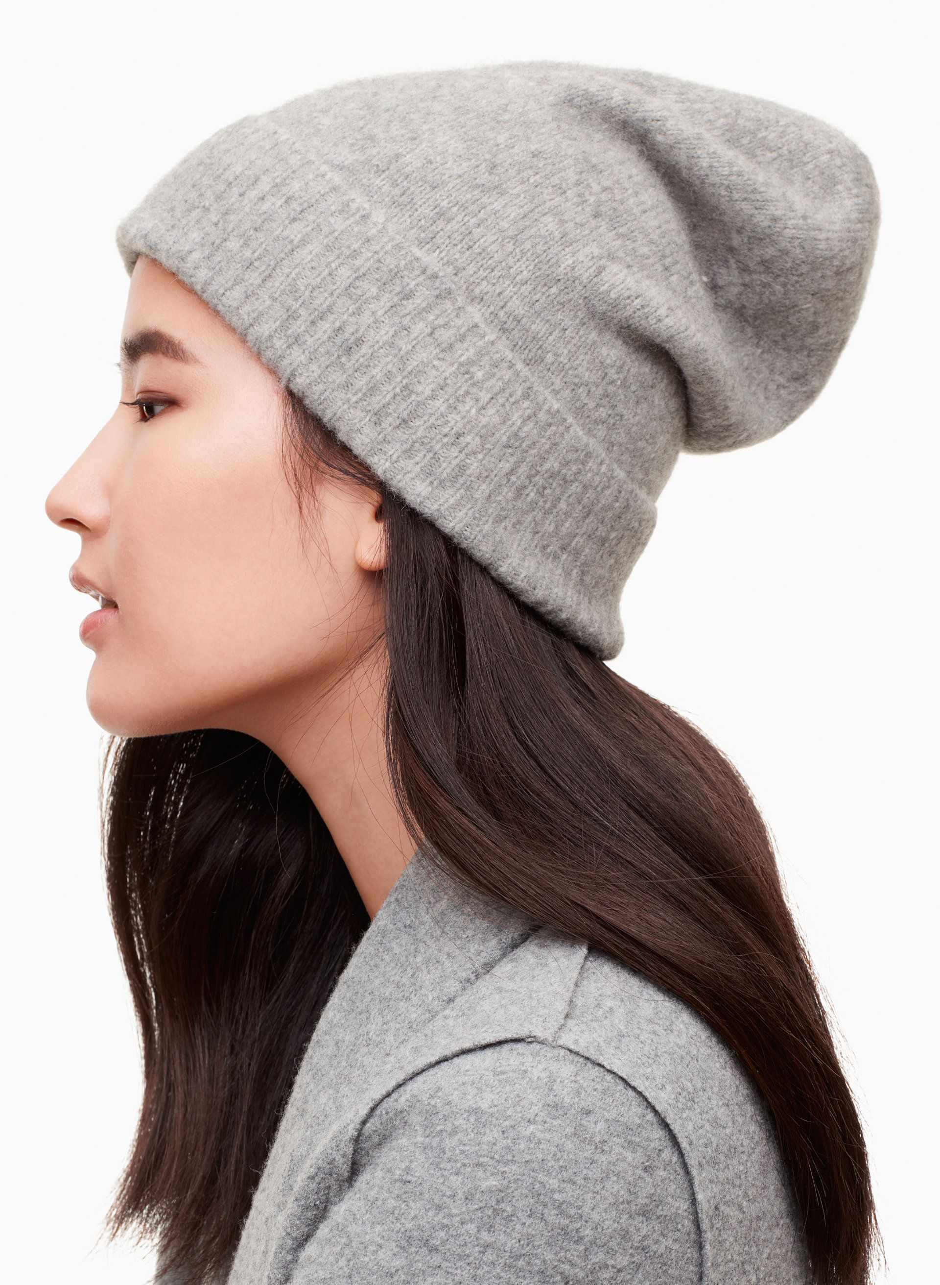 2019 year lifestyle- How to floppy wear knit hat