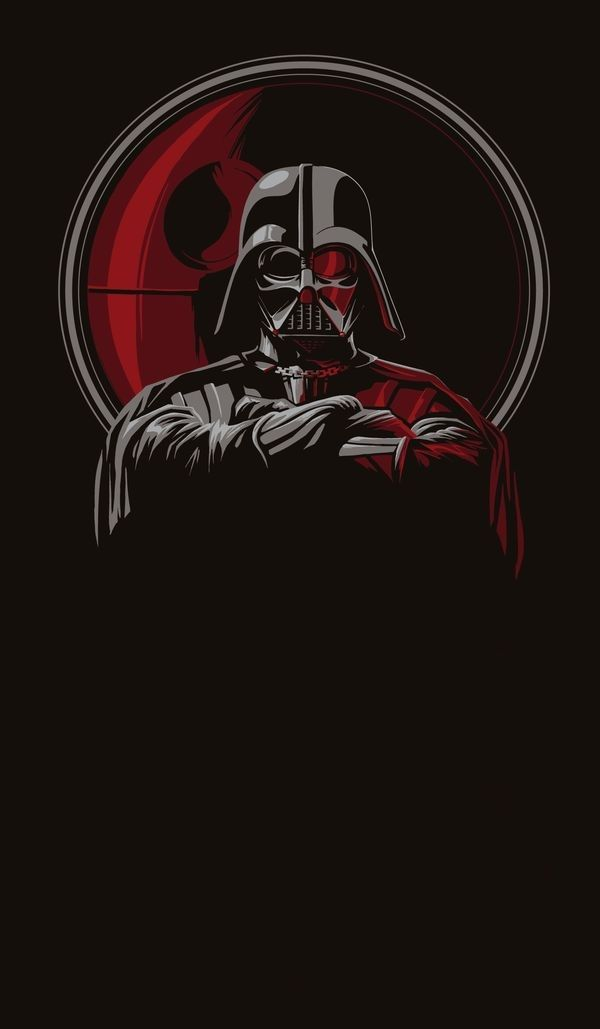 Darth Vader Phone Wallpaper Phone Wallpapers Pinterest Star