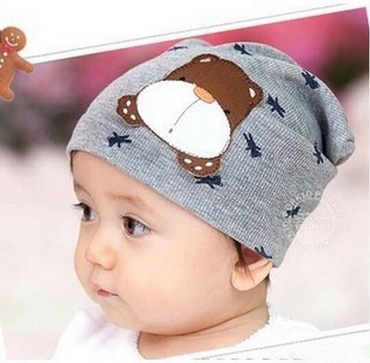Girls Boys Infant Baby Cute Cartoon Dog Warm Cap Toddler Beanie Hats