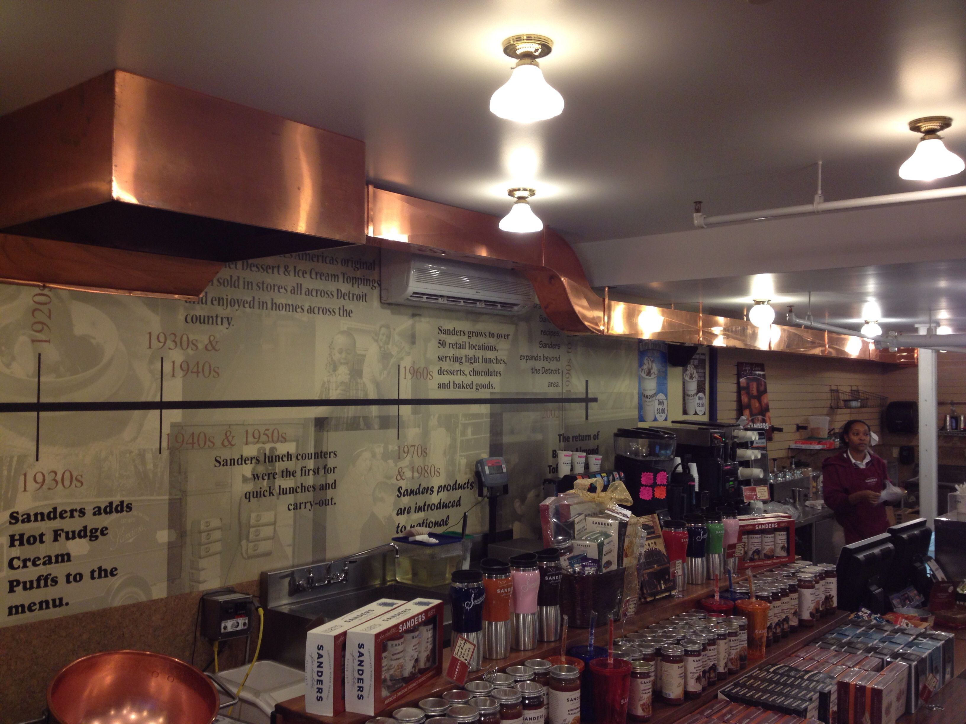 Beautiful Copper Ductwork.