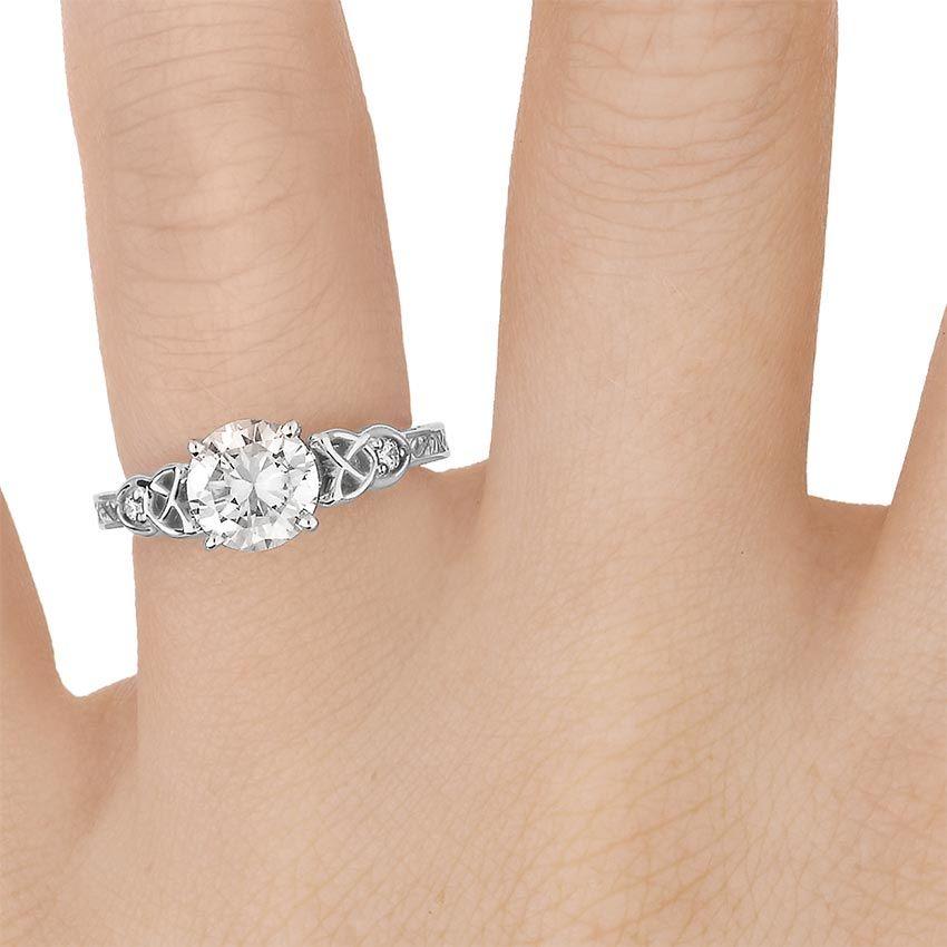18K White Gold Aberdeen Diamond Ring Daydreams Pinterest White