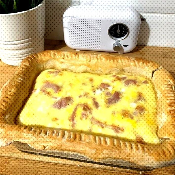 Traditional Quiche- nothing better.