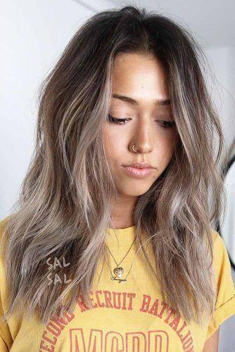 Spass Lange Uberlagerte Haarschnitte Fur Frauen 201 Frisuren