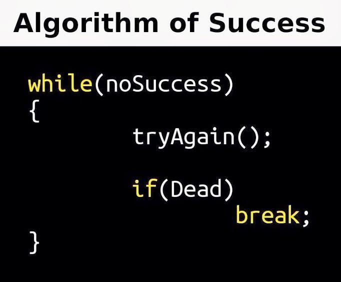 Algorithm Of Success Programacao De Computadores Linguagem De Programacao Programacao