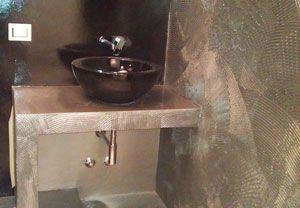 Resina Bagno. | case bagno 2 | Pinterest