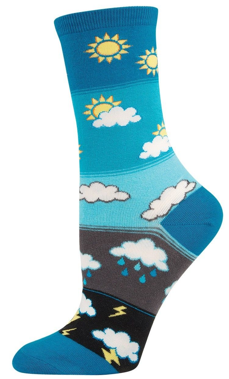 How's The Weather Socks (Women's)