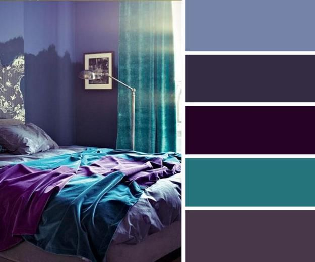 20 Home Decor Ideas And Turquoise Color Combinations Bedroom Color Schemes Purple Bedroom Color Scheme Decor Color Schemes #turquoise #color #scheme #living #room