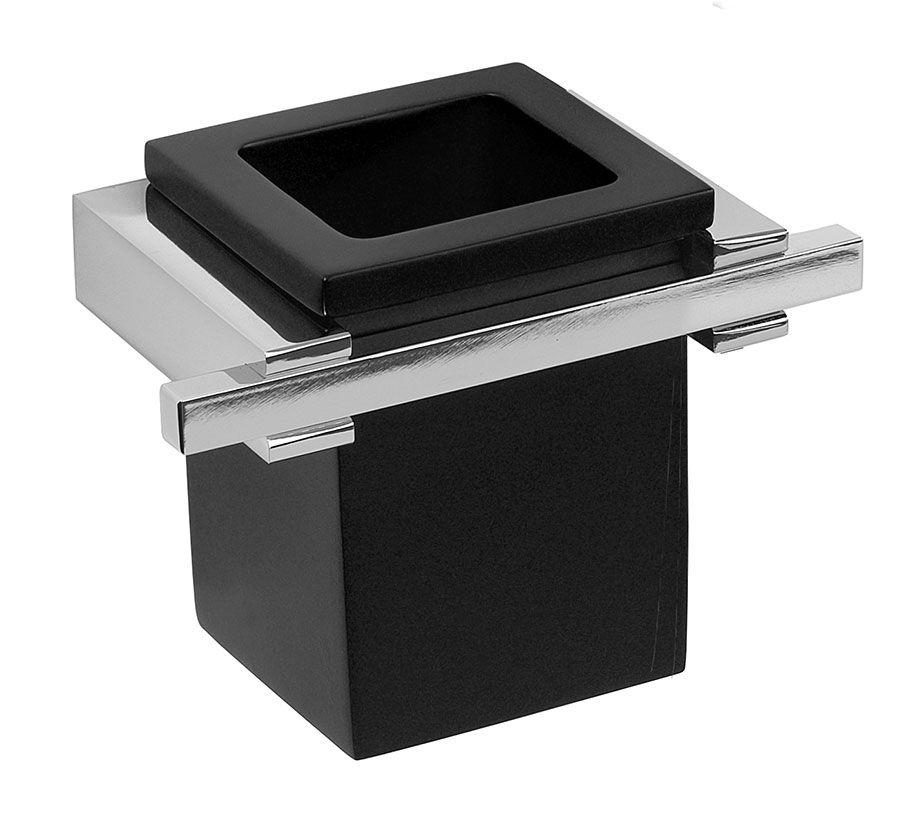 Carlo Iotti Accessori Bagno.Porta Bicchiere Vetro Vetrex Cube Di Carlo Iotti Con Supporto In