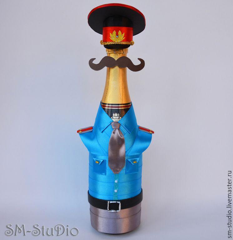 Поделка полицейского из пластиковой бутылки