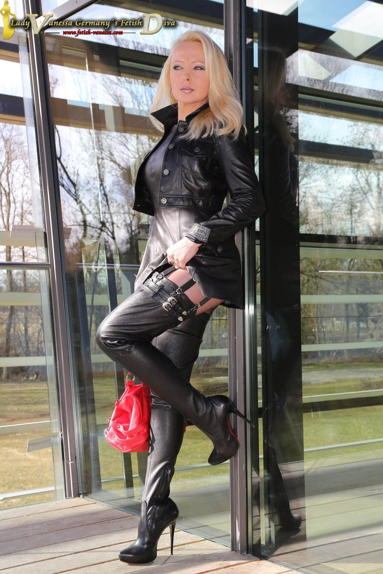Pin By Youngman On Vanessa Leather Dresses Leather