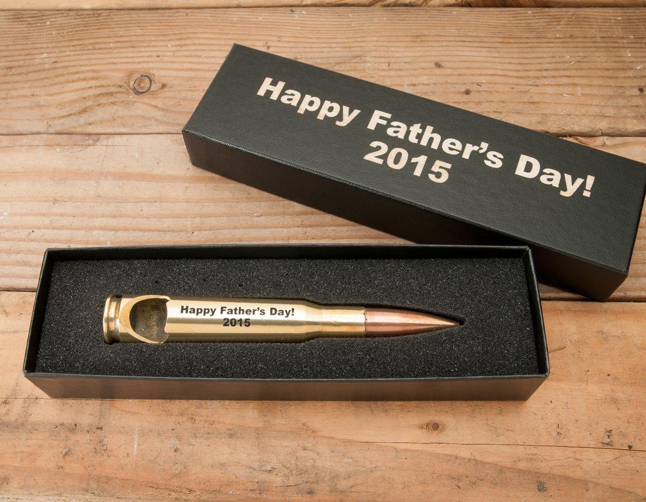 Father's Day Gift -- .50 Caliber Bottle Opener l Bullets2Bandages