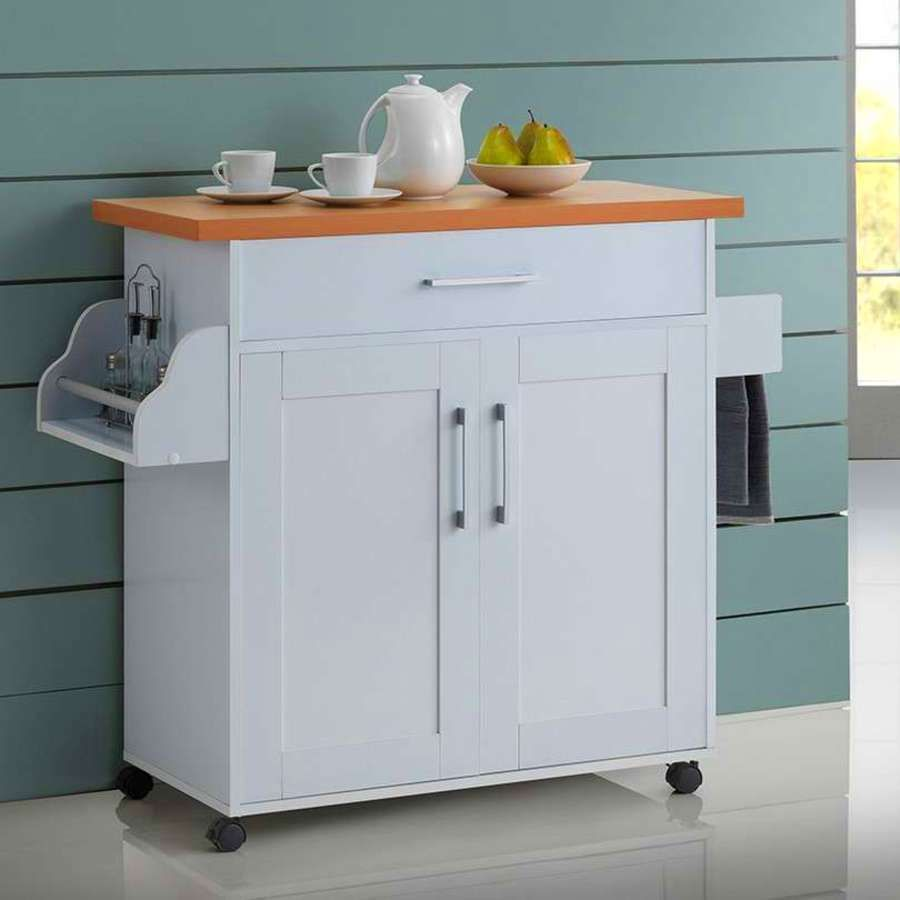 Portable Utility Cart Rolling Storage Mobile Cabinet Table Top Appliance Bar Doesnotapply Kitchen Sale Tiny House Kitchen Kitchen Island Cabinets