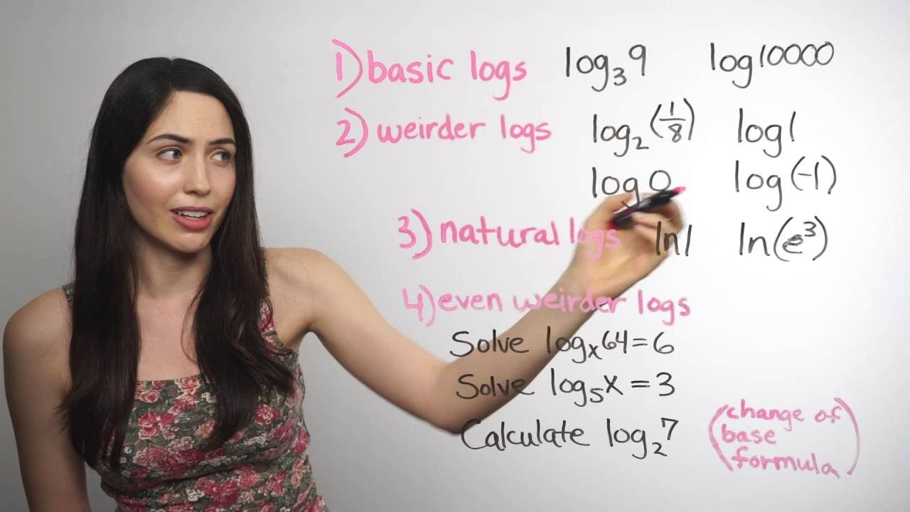 ❤︎² Logarithms    How? (mathbff) | algebra | 2 log, Fun