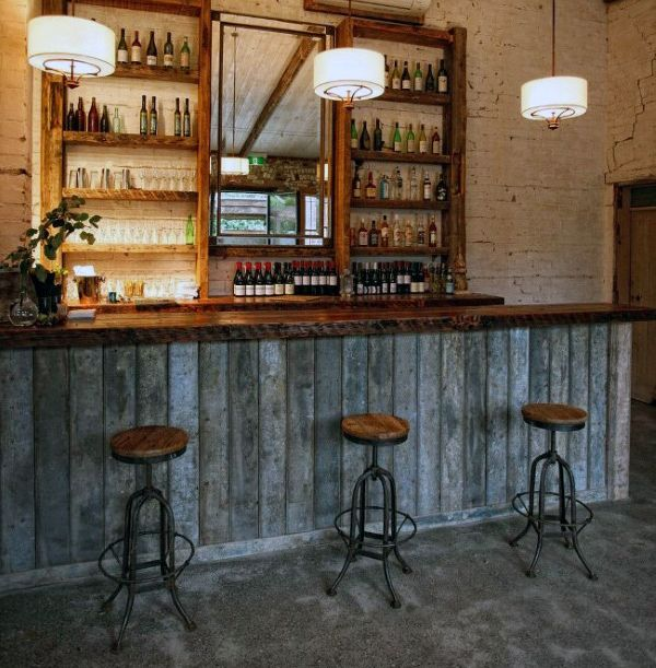 Slate Wall Panels Garage Man Cave Ideas Garage Storage: 50 Man Cave Bar Ideas To Slake Your Thirst
