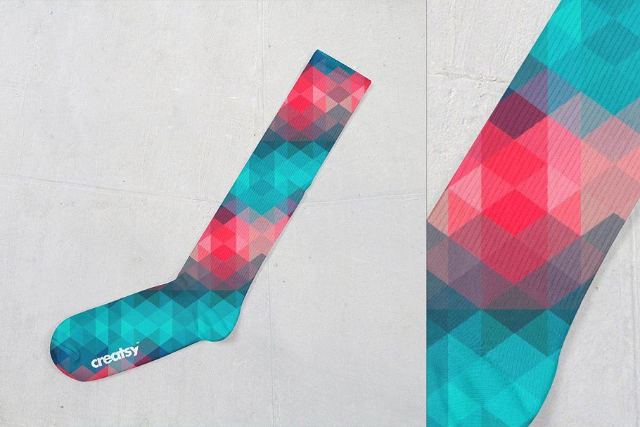 Download Knee High Socks Mockup Set Mockup Business Icons Design Socks Packaging