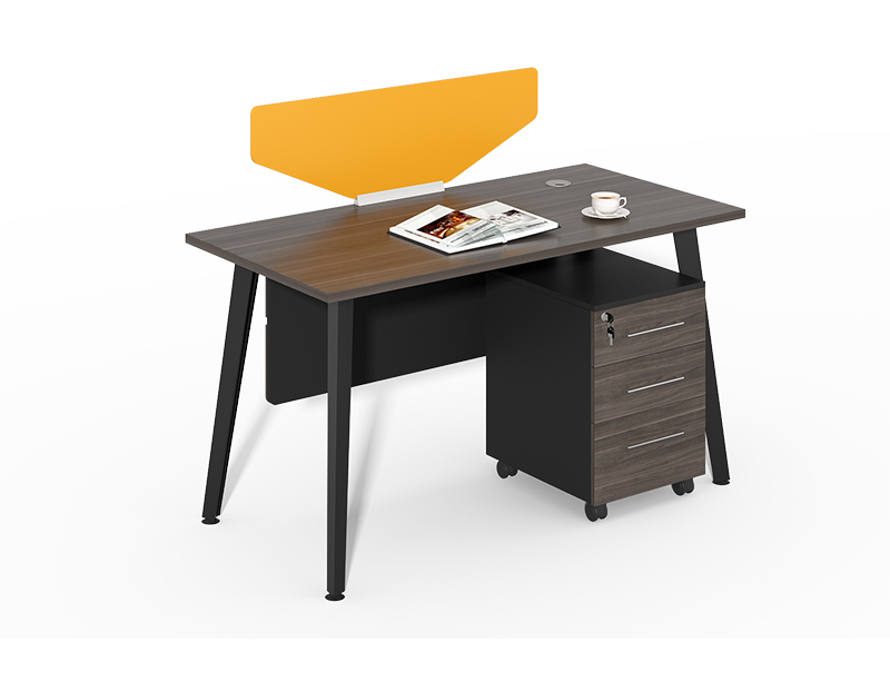 Luxury Office Furniture China Single Office Desk With Yellow Screen Cf Hm1206a Luxury Office Furniture Office Desk Desk