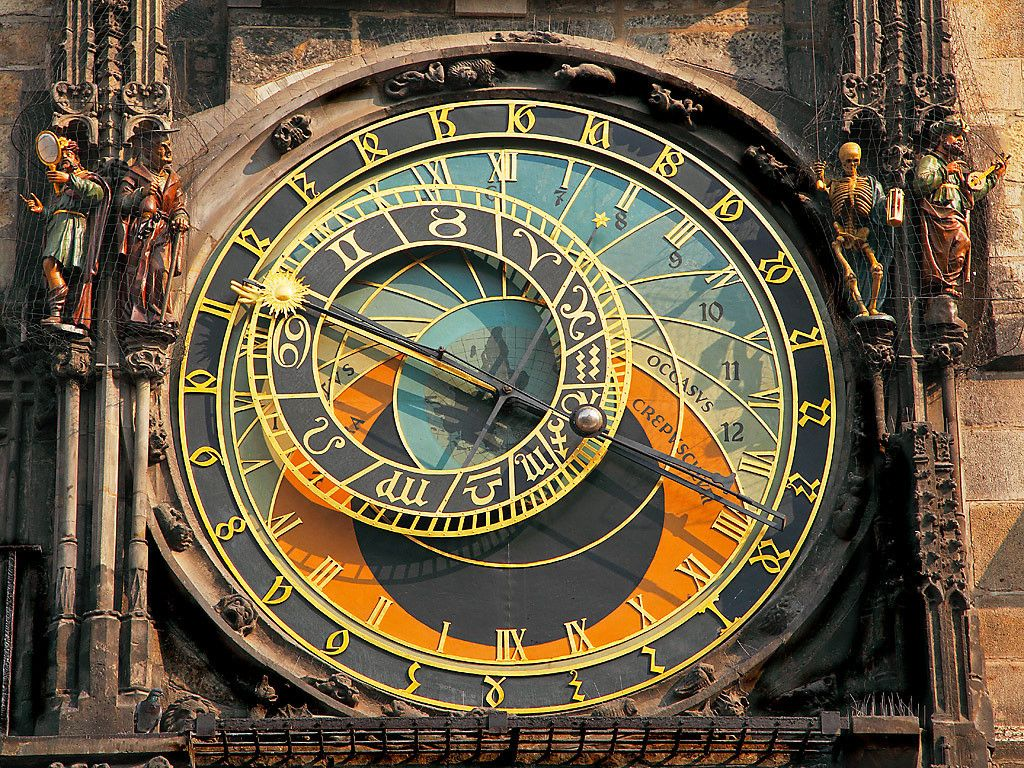 Image result for prague astronomical clock