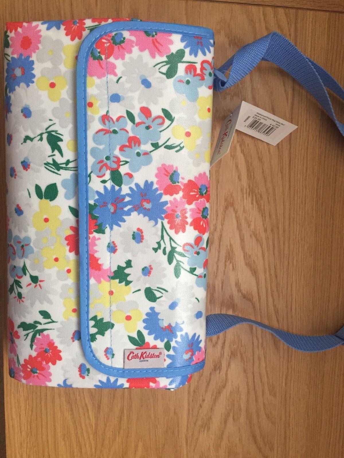 Bnwt Cath Kidston Waterproof Picnic Rug Mat Blanket Ebay