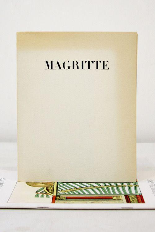 """René Magritte, Le Sens Propre  """"La caractere de l'imagination humaine est exspansif et allegorique""""  Alexandre Iolas Gallery, Paris, 1964  6 ½ x 8 ½ inches (16 ½ x 21 ½ CM)  $75PURCHASE"""