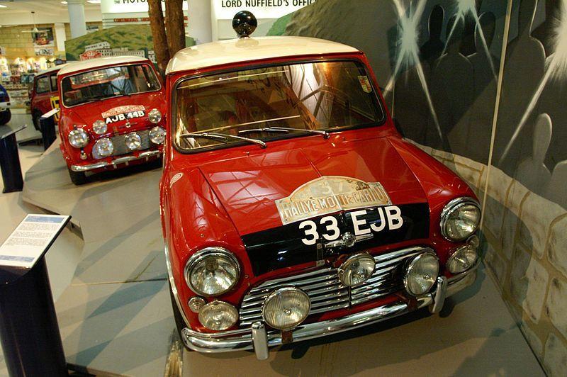 1963 Morris Mini-Cooper Monte Carlo
