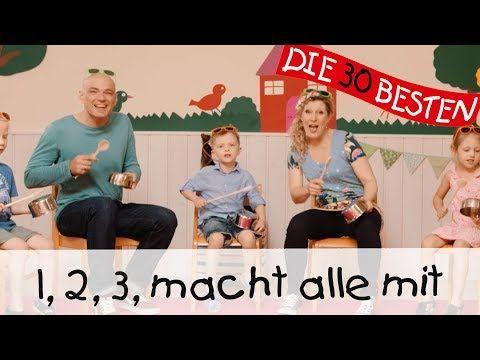 1, 2, 3, macht alle mit – Singen, Tanzen und Bewegen || Kinderlieder – YouTube – Daniela SCHUBERT