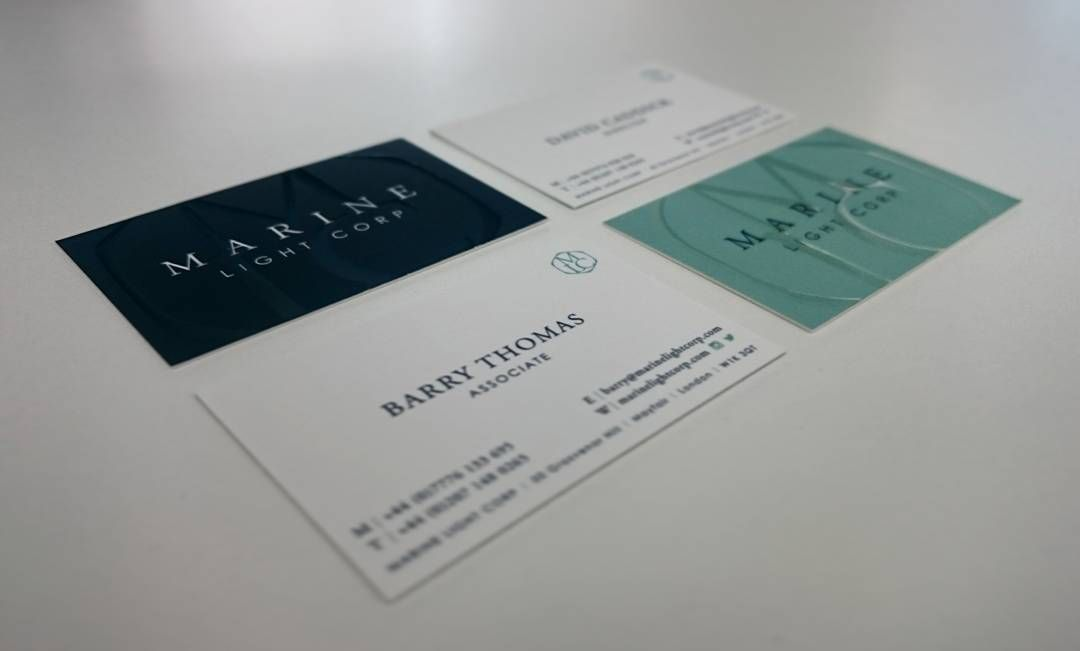 Beautiful new business cards with spot gloss from @moo in both ...
