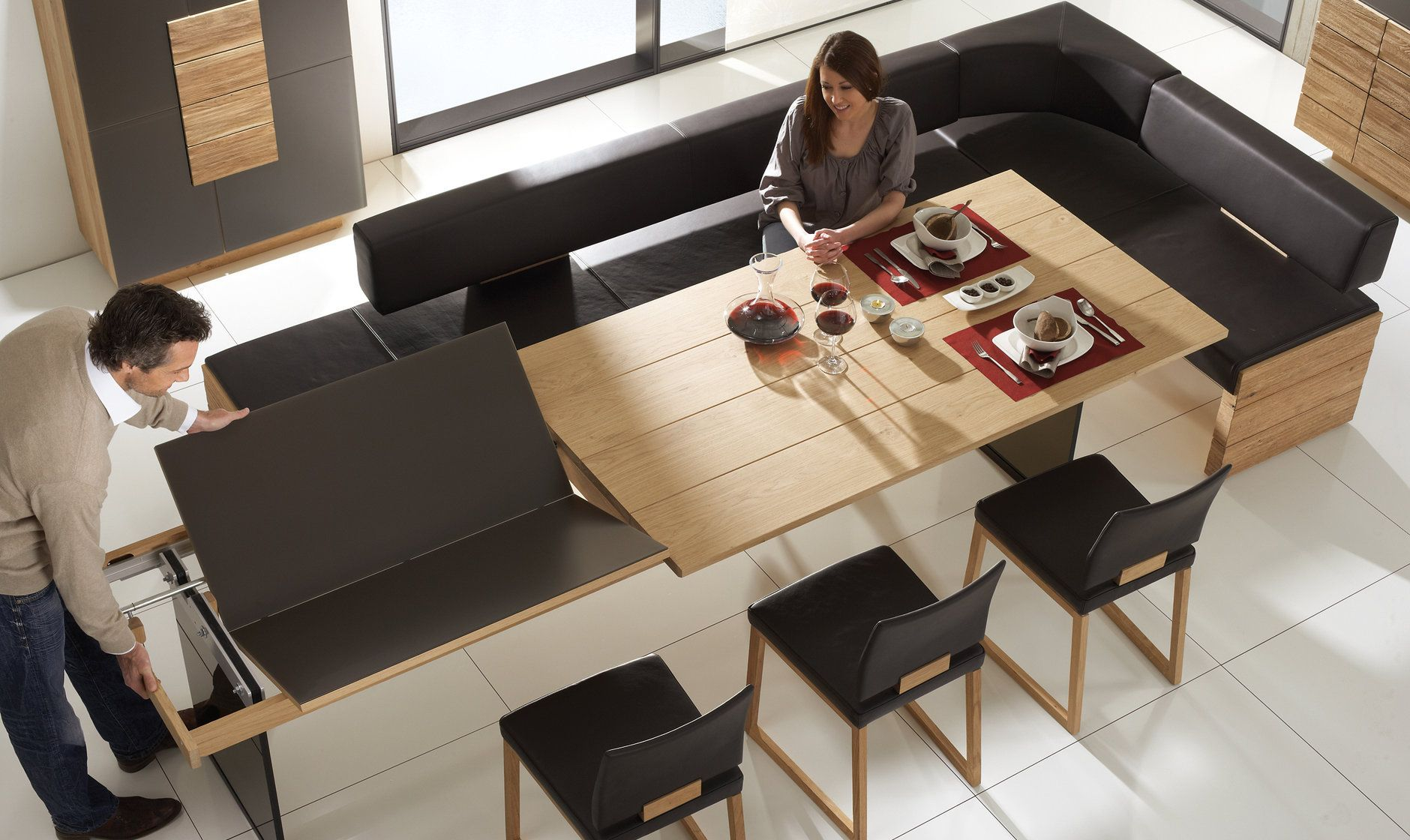 V Montana Products Furniture Voglauer Expandable Dining Table Dining Table Home Decor