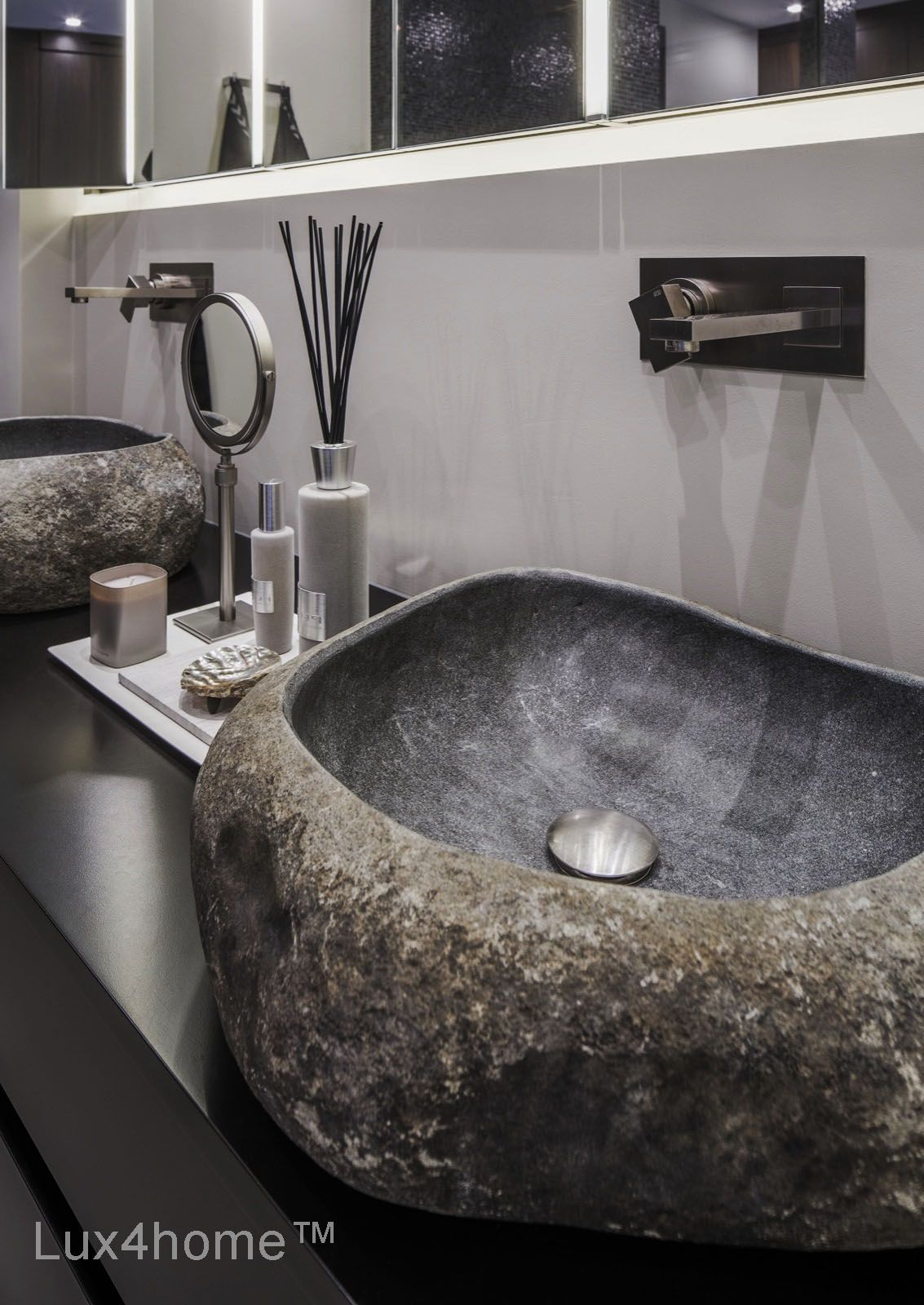 Totally Natural Stone Sinks Collection   River Stone. Sizes From 35 Cm To  120 Cm. Natural Stone Wash Basin Vesselu2014stone Sinks Handmade Ind Indonesia.